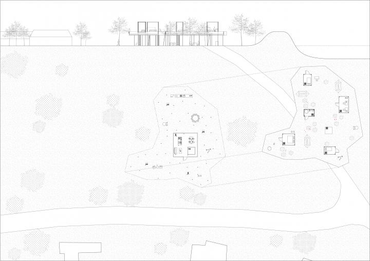 Raised garden scheme