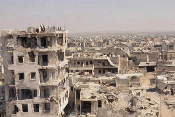 SYRIA WAR BY GONZALEZ HAASE