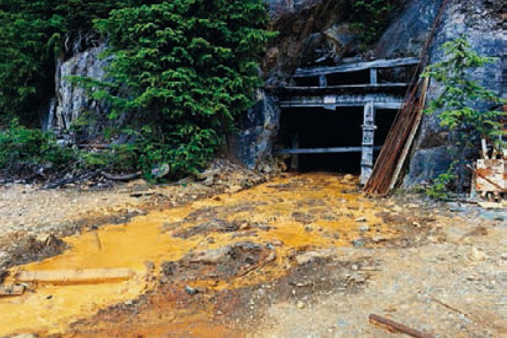 ACID MINE DRAINAGE, BRITISH COLUMBIA, BY GONZALEZ HAASE